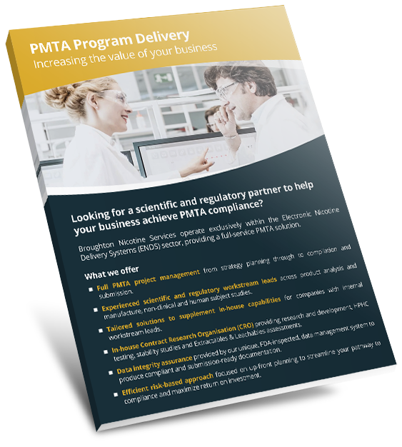 pmta program delivery flyer